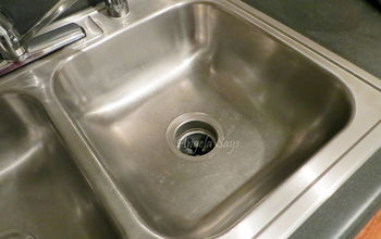 how to clean stainless steel sinks and make them shine, cleaning tips, kitchen design, After