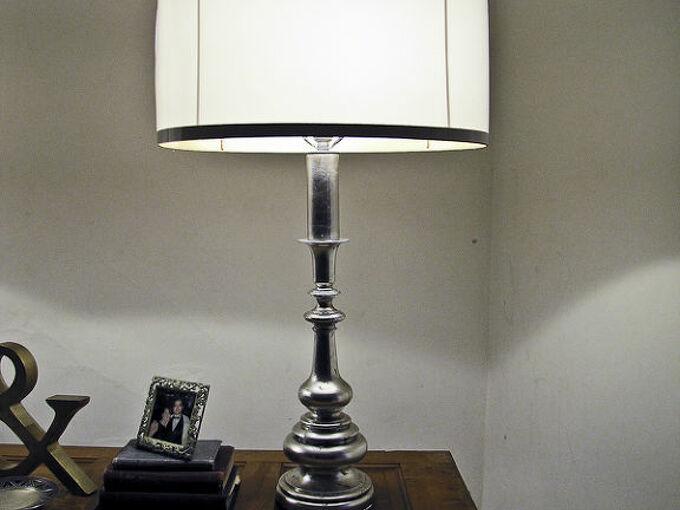 homemade lampshade tutorial, crafts, home decor