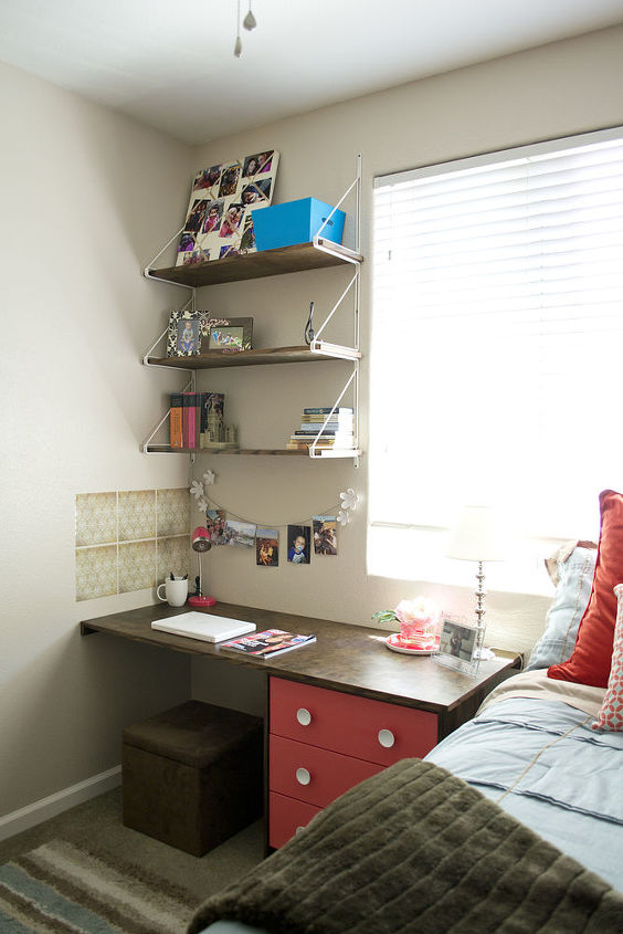 DIY-Built Desk for a college student or anyone
