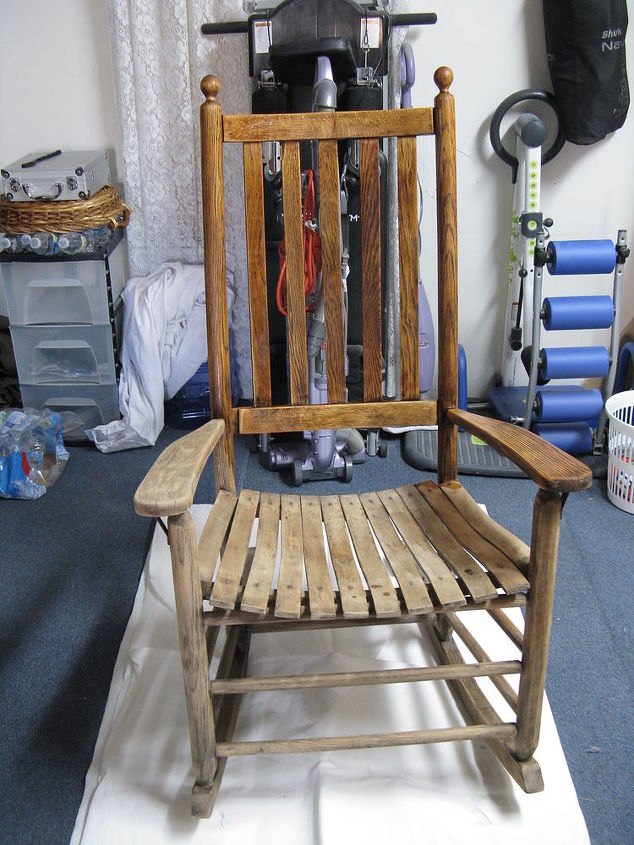 Rocker after 30 years in our barn for storage.