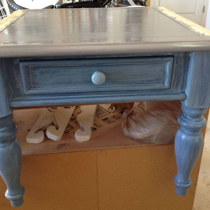 from my q a did it work beach driftwood look, painted furniture