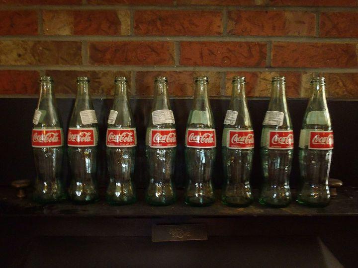 q coke bottle crafts, crafts, repurposing upcycling