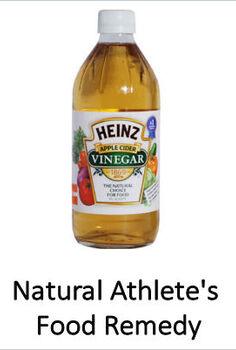got athlete s foot reach for the vinegar