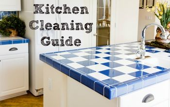 Kitchen Cleaning Guide and Checklist With Free Printable