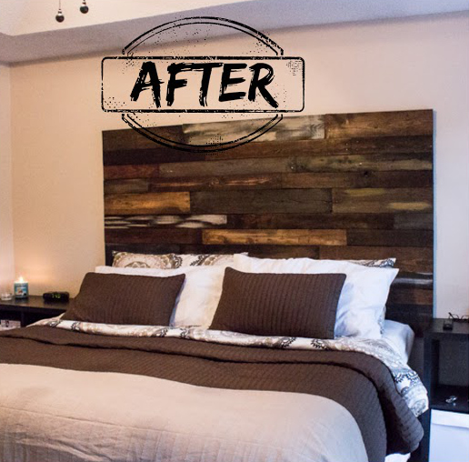 sweet dreams a new pallet headboard, bedroom ideas, diy, painted furniture, pallet, repurposing upcycling, woodworking projects