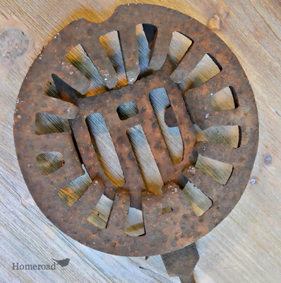 Old Rusty Grate
