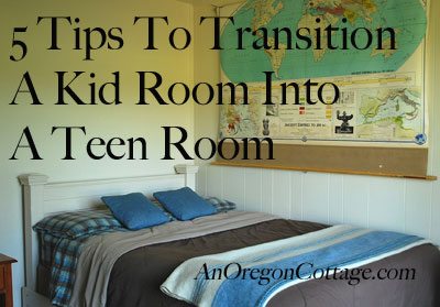 5 tips for transitioning a kid room to a teen room, bedroom ideas