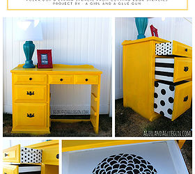 Stenciling A Peek A Boo Pattern On Furniture, Painted Furniture