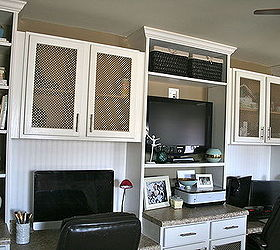 DIY Office BuiltIn for Two Using Prefab Cabinetry and Basic
