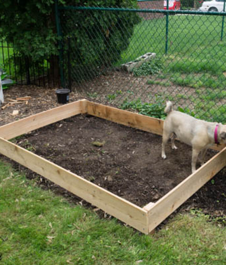 the easy way to build a raised garden bed, diy, gardening, how to, raised garden beds
