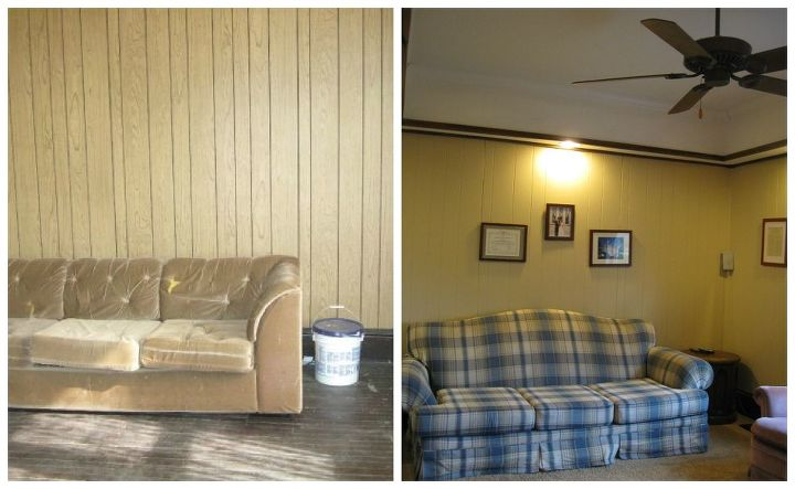 a before and after photo reveal, bedroom ideas, home decor, kitchen design, living room ideas, Before and After The Living Room