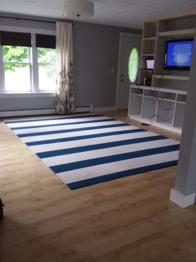 Diy Painted Rug Hometalk