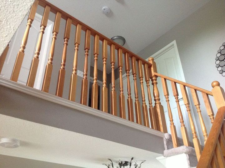 the long time coming staircase banister revival, diy, stairs, woodworking projects, 13 years old time for a facelift