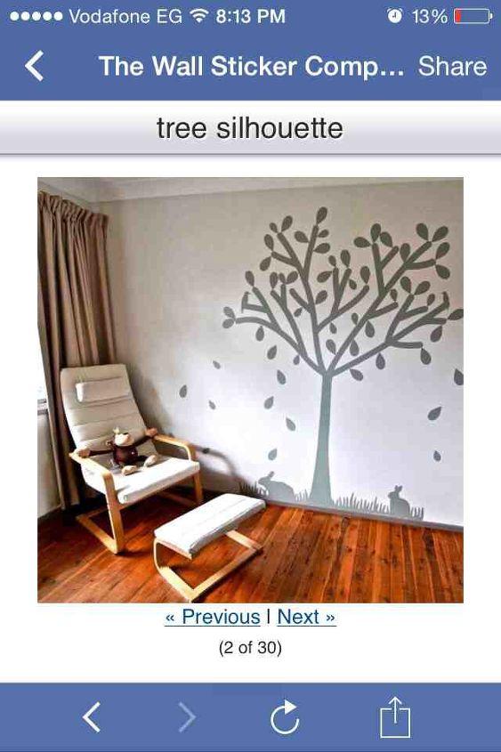 stencil, wall decor