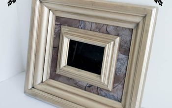 Turning Old Picture Frames Into Wall Decor!