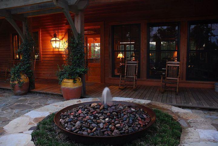 lakeside retreat, decks, landscape, lighting, outdoor living
