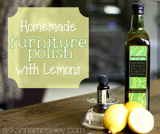 Homemade Furniture Polish Hometalk