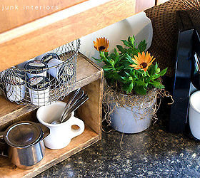 Coffee Pod Storage With A Crate And A Deep Fryer Basket, Cleaning Tips,  Kitchen