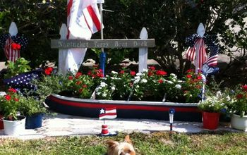 Patriotic Landscaping Memorial Day or July 4th Ideas!