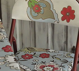 Makeover A Card Table Using A Spray Paint Shower Curtain Mod Podge, Painted  Furniture,