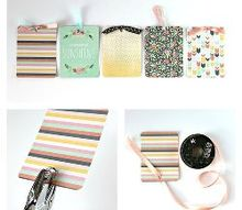diy bookmarks using project life journaling cards, crafts
