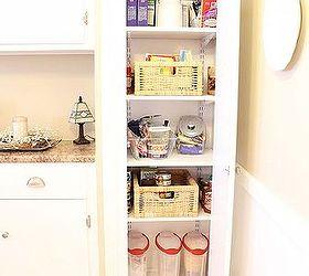 Transform Your Broom Closet Into A Pantry, Closet, I Added Four Shelves  Which Keep