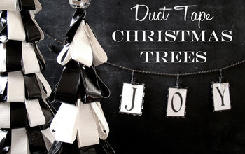 Duct Tape Christmas Trees