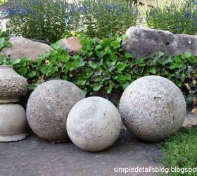 Marvelous Diy Concrete Garden Spheres, Concrete Masonry, Gardening