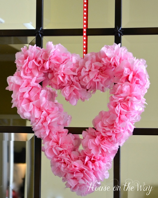 valentine s day wreath craft for your home decor, crafts, seasonal holiday decor, valentines day ideas, wreaths