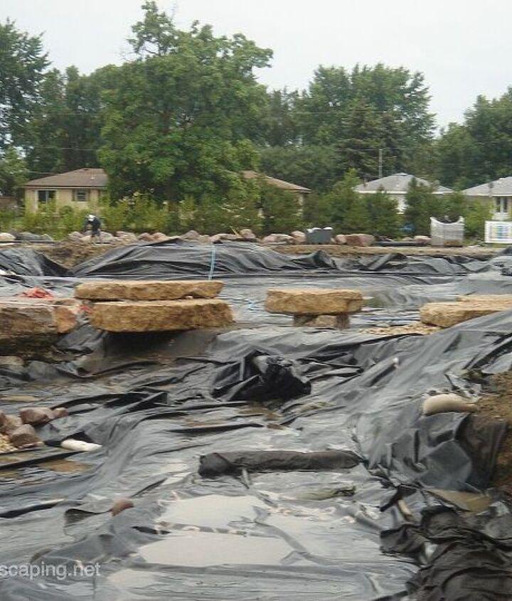 Pond Renovation, Rochester, Monroe County NY