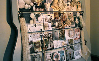 inspiration board from an old bureau mirror frame, home decor, repurposing upcycling, I wanted something that I could physically touch and feel