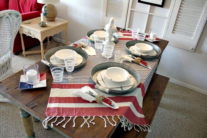 Barn board farmhouse table.