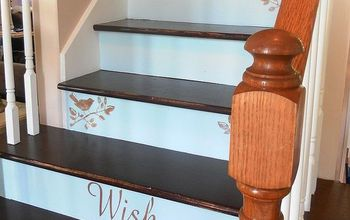 A Creative Staircase Makeover