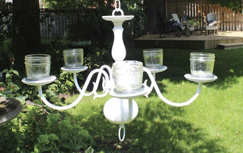 Add Some Romance and Atmosphere to Your Garden With a Chandelier