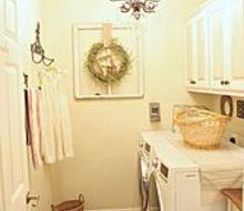budget laundry room makeover, home decor, laundry rooms