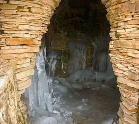 Superb Explore An Icy Waterfall And Grotto In St Charles Illinois, Ponds Water  Features, The