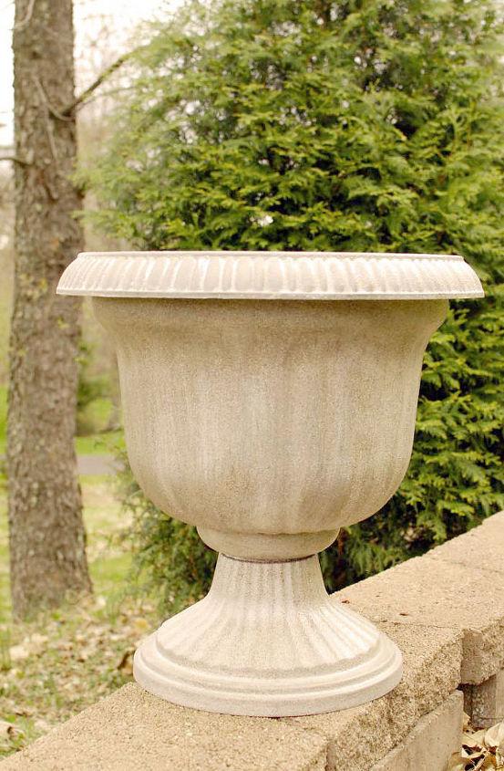 thrifty diy planter knockoff, gardening, repurposing upcycling