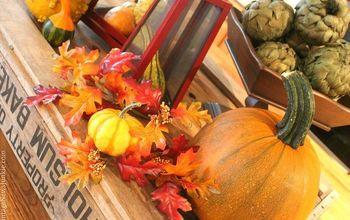 Vintage Fall Decor & My Farmer's Market Finds