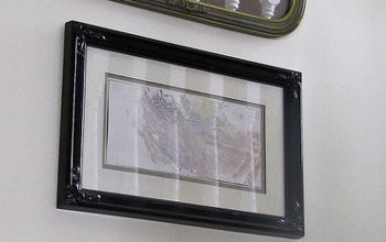 Make new glass vintage with Krylon Looking Glass paint