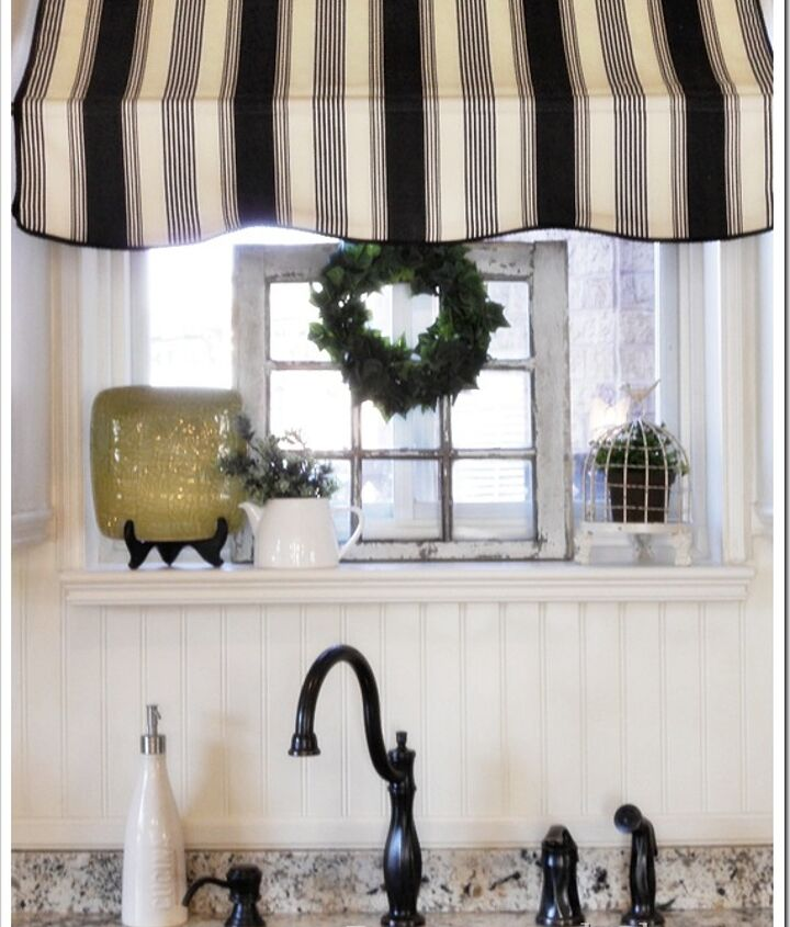 Kitchen awning over sink