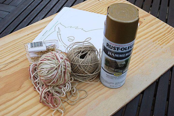owl string art diy, crafts