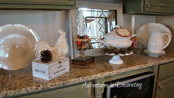 our new french country breakfast area, home decor, living room ideas