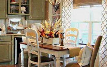 our new french country breakfast area, home decor, living room ideas, AFTER welcome