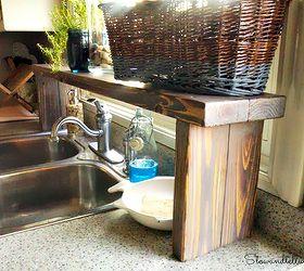Superbe Over The Sink Shelf From Pallet Wood, Diy, Kitchen Design, Pallet, Shelving