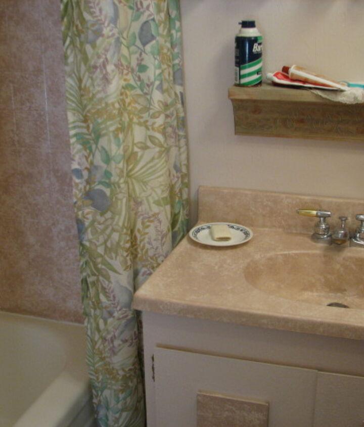 including the bathroom sink