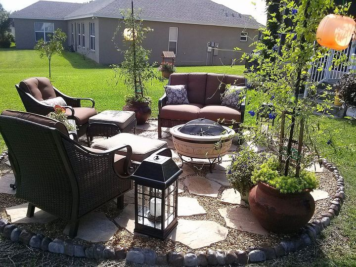 backyard escapes, flowers, gardening, outdoor living, patio