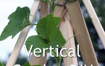 Build a Vertical Gardening Teepee - DIY