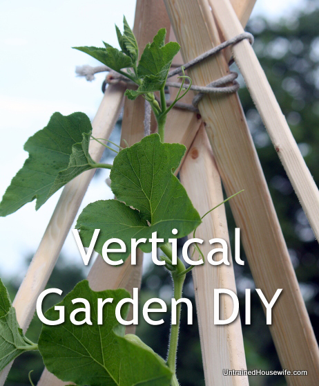build a vertical gardening teepee diy, gardening, Classic look cheaper than bamboo stakes and sturdier than tomato cage wires this vertical gardening teepee is simple to make See how we used it for our large squash vines