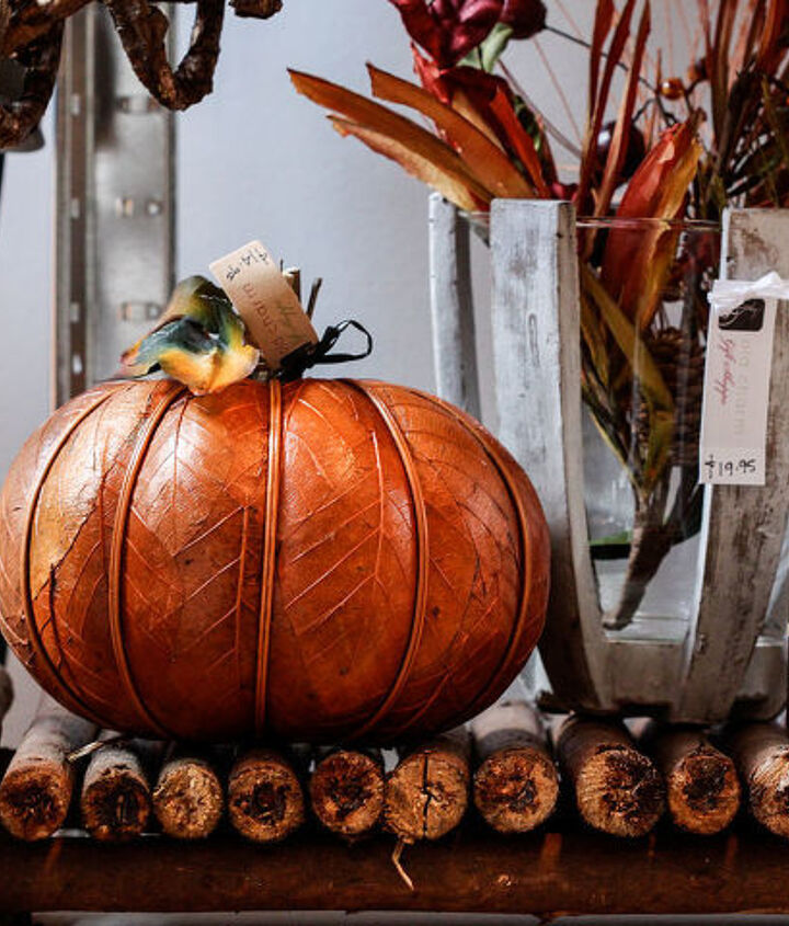 Spend a little extra for a fabulous faux pumpkin that you'll have for years.