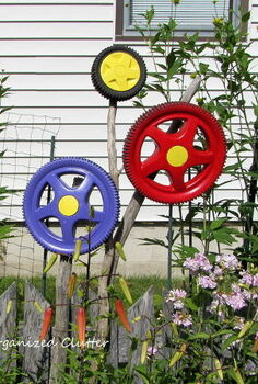 a yard of flowers garden tour 2013, flowers, gardening, outdoor living, perennial, repurposing upcycling, Whimsy